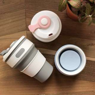 Silicon Collapsible Coffee Cups