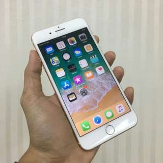 I Phone 7+ 256gb rosegold