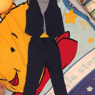 Boy suit dark blue suitable for concert and dinner