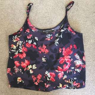 billabong singlet top