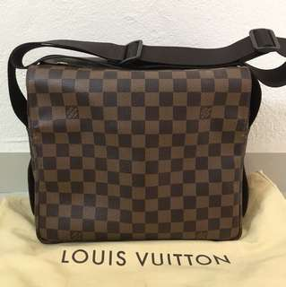Louis Vuitton LV Naviglio N45255 Sling Messenger Bag