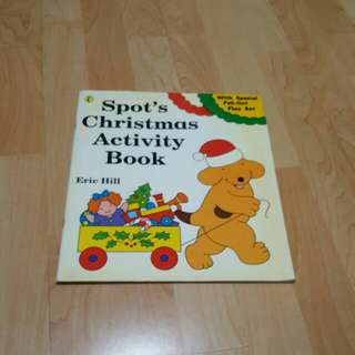 Spot's Christmas Activity Book (with special pull-outplay set)