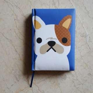 BN Blue Dog Pocket Notebook