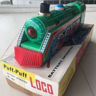 Loco puff puff train