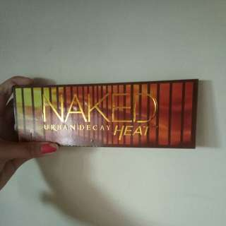 Naked urban decay heat and too faced natural love