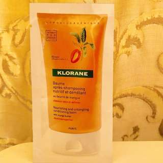 Sample - KLORANE  Nourishing Shampoo with Mango Butter 10ml (F027)