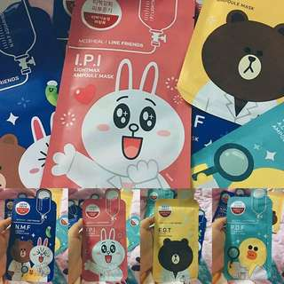 MEDIHEAL LINE FRIENDS MASKER SHEET MASK