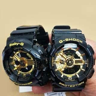 Couple Baby G-Shock