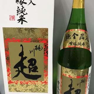 """[送禮之選-日本酒系列]桃川""""超""""金箔純米大吟釀 1.8L"""