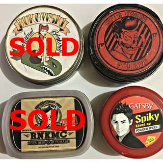 Pomade Grim Grease & Gatsby