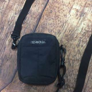 Sembonia Black Sling Bag