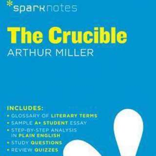 Sparknotes The Crucible Arthur Miller Study Guide