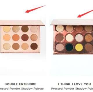 Colourpop makeups eyeshadows lipsticks