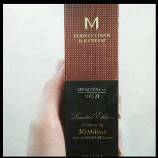 Missha perfect cover B.B. cream foundation
