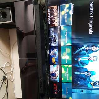Complete home theater system ( tv & audio system)