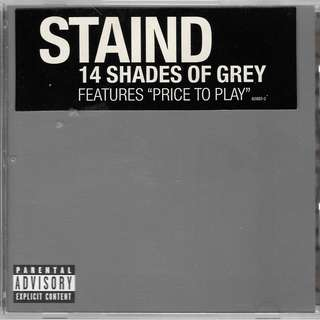 MY CD - THE STAIND - 14 SHADES OF GREY //FREE DELIVERY