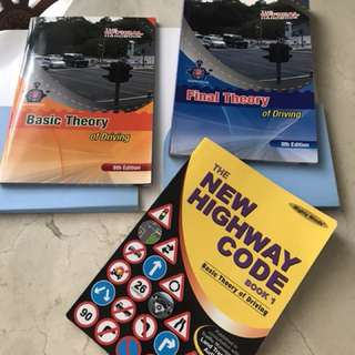 New Highway Code and theory