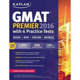 GMAT Premier 2016 by Kaplan ebook