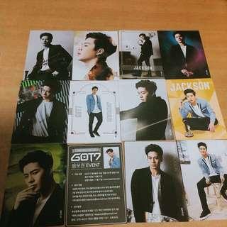 GOT7 Jackson postcard