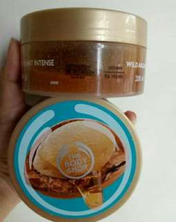 the body shop agra oil scrub 200gr