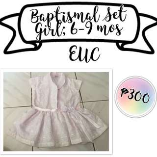 Baptismal Set