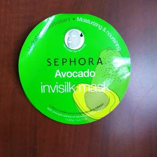 Avocado invisilk mask