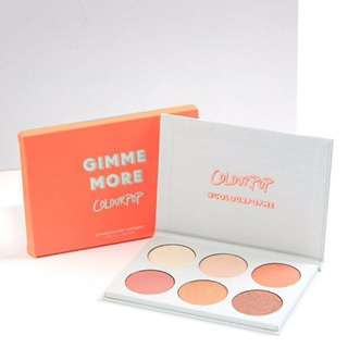 Free Post: NEW Gimme More Colourpop Highlighter Palette