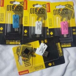 OTG USB for Micro SD (Slim 2.0)
