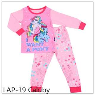 I want a pony sleep wear set