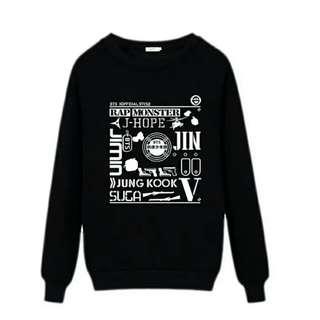 Bts 防彈少年團 衛衣 sweater