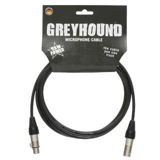 Greyhound 3m XLR Microphone Cable