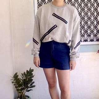 New Streetwear Style Sweater Top
