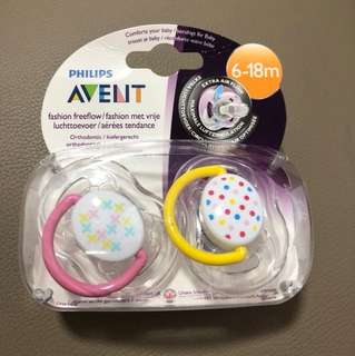 Philips Avent Pacifiers 6-18 months 2 pcs