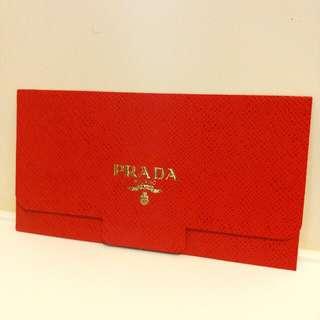Prada 燙金利是封 個人收藏 $18/個
