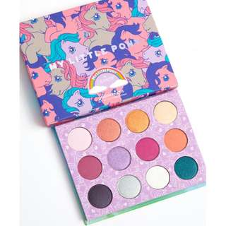 IN STOCK colourpop my little pony eyeshadow palette