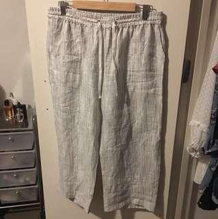 White Sportscraft Pants Size 12