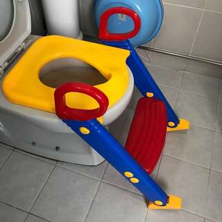 Kid toddler toilet seat