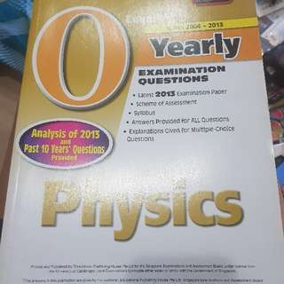 O level yearly physics paper 2004-2013