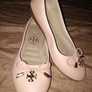 Sakura Pink Tory Burch Doll shoes