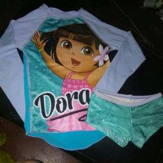 Dora rashguard set