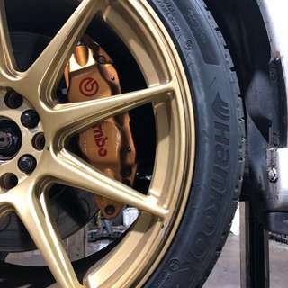 STi Brembo Brake Kit