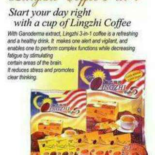 Lingzhi Coffee 3-in-1 20's(21g), ( Code no: 065235655 )
