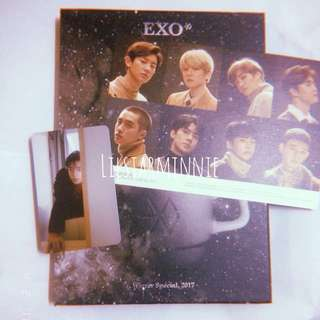 EXO Winter Special, 2017 Universe Album with Sehun Photocard