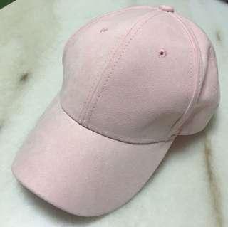 Basic baby pink cap