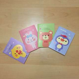 Small Cute Notebook