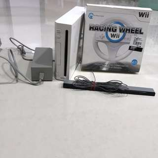 Wii game and wii fit