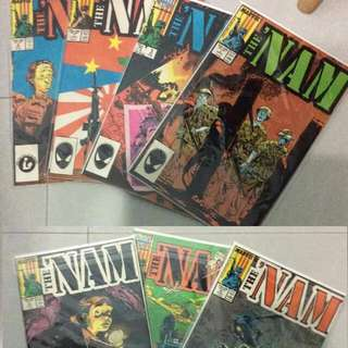 Nam Series! Marvel Comics (7 Issues Set)