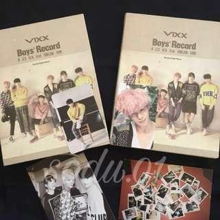 [WTS] Preloved Items - Vixx Boys' Record Album