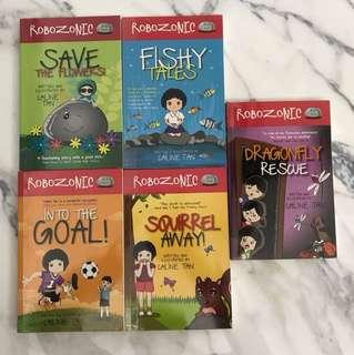 Robozonic Books 1 to 5