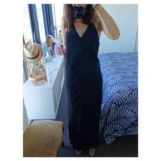 Keith Matheson Dress - Black, Size 12 (Deb Dress)